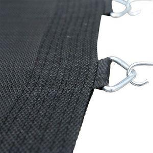 Sprungtuch Sprungmatte für Trampolin 250cm, Haken für 48 Federn Schwarz SIRIUS Trampolinzubehör Ersatzteile