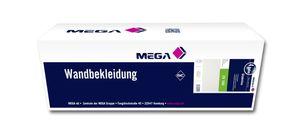 4x MEGA Glattvlies ZV 160 25,00 m x 0,75 m weiß