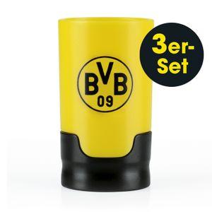 Taste Hero BVB Bier-Aufbereiter für echte Fans, passend für Glas- und PET-Flaschen - 3er-Set Die Höhle der Löwen
