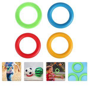 4 Stück Gymnastikringe Morgenübung Fitness Wurfring Spielzeug für Kinder Kinder
