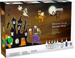 "KREUL Window Color ""Monster Party"" Set"