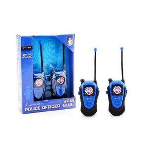 Johntoy Walkie-Talkie-Set Polizei zweiteilige 80 mtr