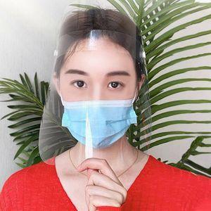 5 Pcs Gesichtsschutzschirm Wiederverwendbare Gesichtsschutz Transparenter Gesichtsschutz für Labor, Haushalt, Küche Verwenden Sie Wasser Staub Nebel Visier Prävention