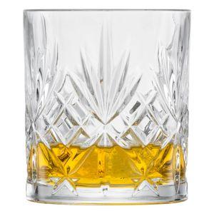 Schott Zwiesel Whiskyglas Show 6er Set, Whiskytumbler, Schnapsglas, Tritan Kristallglas, 334 ml, 121553