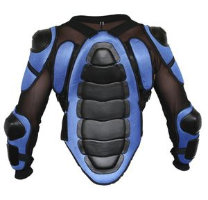Protektorenjacke Motorrad Motocross Skatebording Protektoren Armour KörperPanzer, Größe:54/XL