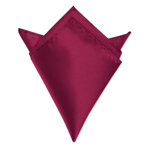 Autiga ® Einstecktuch Kavalierstuch Tuch Taschentuch Polyester Business Hochzeit bordeaux