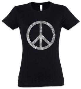 Urban Backwoods Peace Symbol Damen T-Shirt, Größe:S