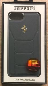 """Ferrari - 488 Gold Edition  FESEGHCP7LBL - Leder Hardcover - Apple iPhone 6 Plus 6s Plus  7 Plus 5,5"""""""