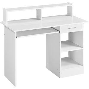 Yaheetech Computertisch Arbeitstisch Bürotisch mit Schubladen