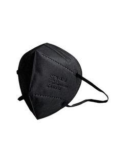 DE+Fachhändler+CE 0598+Blitzversand+10 Stück 5-lagige schwarze Atemschutzmasken FFP2 Mundschutz, Schutzmaske, Einwegmasken Bestseller