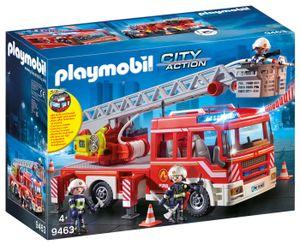 PLAYMOBIL City Action 9463 Feuerwehr-Leiterfahrzeug