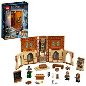 LEGO 76382 Harry Potter Hogwarts Moment: Verwandlungsunterricht Set, Spielzeugkoffer mit Minifiguren, Sammlerstück