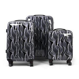 MasterGear Design Koffer - schwarz/weiß, Produktart:Handgepäck