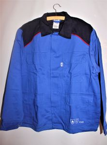 HB Störlichtbogenschutz Arbeitsjacke royal/navy/rot Schutzjacke Jacke Arbeit, Größe:46