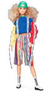 Barbie BMR1959, voll bewegliche Barbie Modepuppe mit blonden Locken