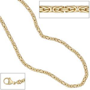 JOBO Königskette 333 Gelbgold 42 cm Gold Kette Halskette Karabiner