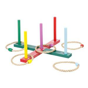 Wurfspiel Ringwurfspiel Ringe Werfen Wurf Spiel Spielzeug Outdoor aus Holz