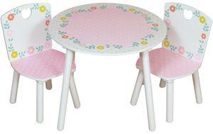 Kidsaw Tisch & Stühle mit Motiv Landhaus, CCTC