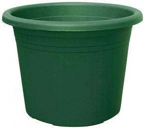 10er Set Topf Cylindro 20 cm aus Kunststoff Sparpaket, Farbe:olivgrün
