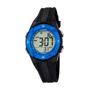 Calypso Kunststoff PUR Kinder Uhr K5685/1 Armbanduhr schwarz Junior D2UK5685/1