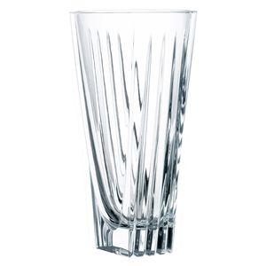 Nachtmann Vorteilsset 2 x  1 Glas/Stck Vase 204/17/24cm Art Deco  82047 und Gratis 1 x Trinitae Körperpflegeprodukt