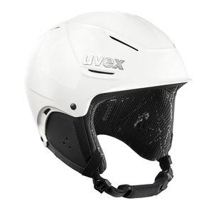 UVEX - Ski- & Snowboardhelm - p1us - Hartschalenhelm - Farbe: White - Gr. 3 (S = 52-55 cm)