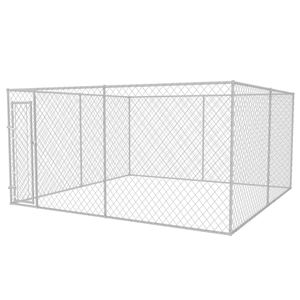 Perfekt® Outdoor Hundezwinger/Hundebedarf/Hundehütte/Hundekäfig/Hundehaus Ausläufe für Katzen,Hunde 4x4x2 m🍹6550