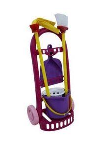 Trolley Putzfrau, klein, für Kinder