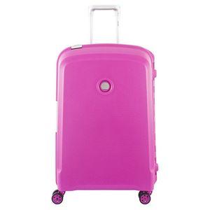 Delsey Belfort Plus 4-Rollen-Trolley M 70 cm pink