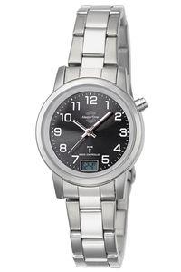 Master Time MTLA-10695-21M Funk-Armbanduhr für Damen Basic mit Stahlband