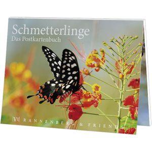 Postkartenbuch Schmetterlinge, Postkartenbücher Ansichtskarte Postkarte Tier Falter