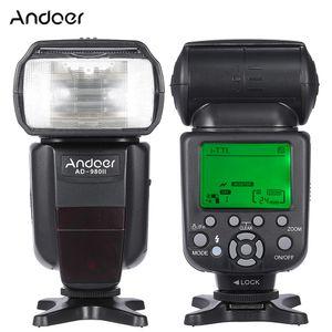 Andoer AD-980II-i-TTL-HSS 1/8000 s Master Slave GN58 Blitz Speedlite fuer Nikon D7200 D7100 D7000 D5200 D5100 D5000 D3000 D3100 D3200 D3300 DSLR-Kamera