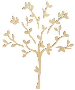 "Holz-Wandmotiv ""Baum"" Höhe ca.136 cm"