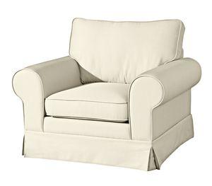 Max Winzer Hillary Sessel - Farbe: creme - Maße: 107 cm x 89 cm x 85 cm; 2890-1100-1645215-KUN