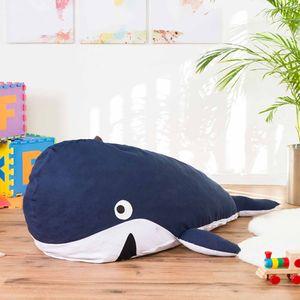 Kinder Sitzsack - Walfisch Kindersitzsack - Wal Kinder Sitzsack von Smoothy