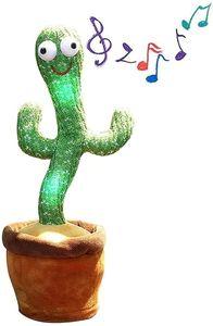 Sprechender Kaktus Plüsch-Spielzeug, Tanzender Kaktus Singender Kaktus, Cactus Plüsch-Puppe Kinder