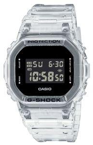Casio G-Shock Armbanduhr DW-5600SKE-7ER Transparent