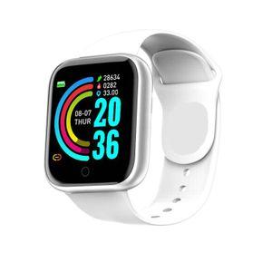 Digitaluhr Blutdruck Pulsmesser Herren Damen Smart Armband IP67 Wasserdicht Sport Fitness Tracker Für Android IOS