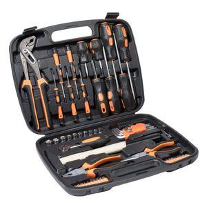 Werkzeugkoffer 57 teilig Werkzeugbox Werkzeugkiste Werkzeugkasten Werkzeug Set