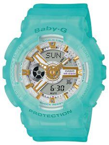 Baby-G Damenuhr Casio Armbanduhr BA-110SC-2AER