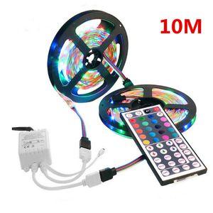 10M SMD 3528 RGB 600 LED String LichtStreifen + IR 44 Schlüssel Fernbedienung