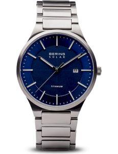 BERING Herren-Armbanduhr Analog Solar Titan 15239-777