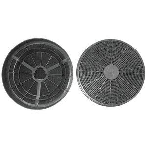 PKM 50007 Kohlefilterset CF 110 passend für Dunstabzugshauben 6090H, 9090 H, UBH 4060-2 H, 2-teilig (1 Set)