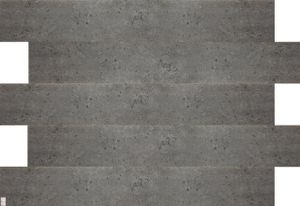 Betonplatten Imitat Deckenpaneele BETONDESIGN dunkle Betonoptik aus Polystyrol (0,167qm)