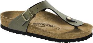 Birkenstock Gizeh Flips Birko-Flor Damen icy metallic stone gold Schuhgröße EU 38 | Regular