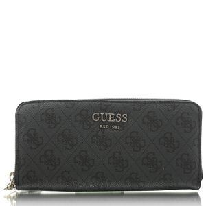 GUESS Vikky SLG Large zip Around coal
