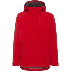 Jack Wolfskin Gotland 3IN1 Jacket Men Größe: M Farbe: 2102 red lacquer