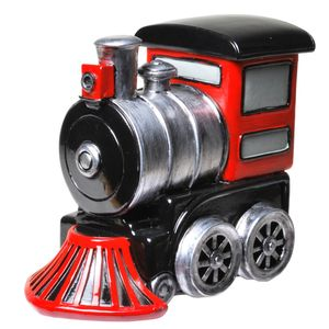 Lustige Spardose Eisenbahn Sparschwein  Lokomotive Eisenbahn