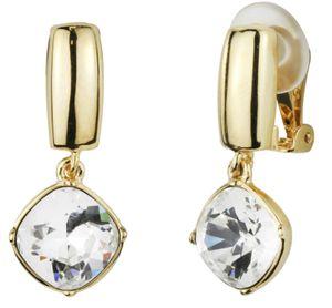 Traveller - Ohrclip - Hänger - Swarovski crystals  - 22ct vergoldet - 157449