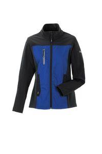 Größe 46 Planam Norit Damen Hybridjacke kornblau schwarz Modell 6512